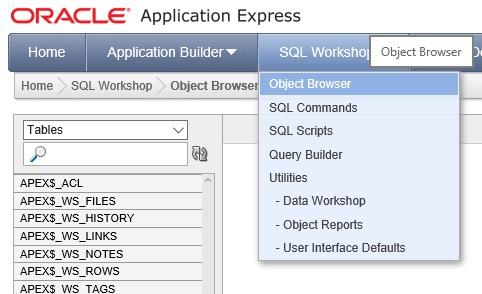 Oracle Veritabanı Tablosu Oluşturma
