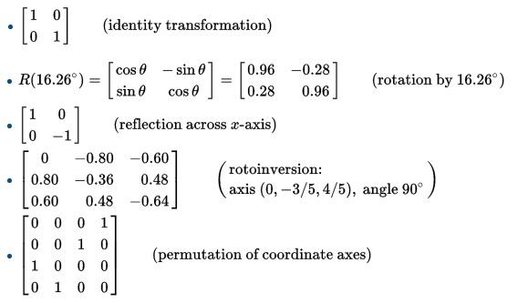 Ortogonal matris nedir?