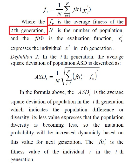 An Adaptive Genetic Algorithm based on Population Diversity strategy