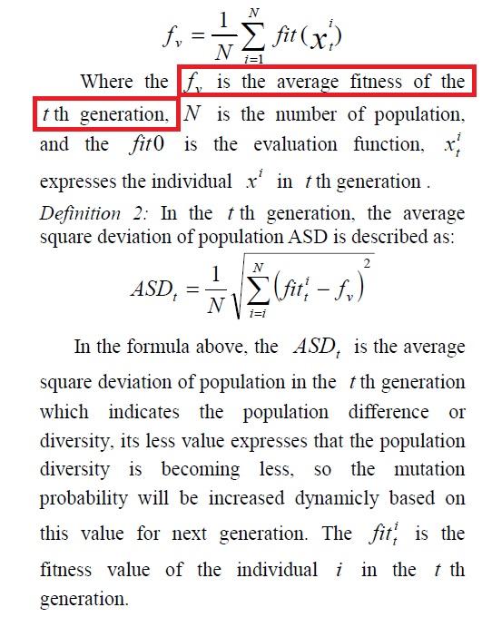 An Adaptive Genetic Algorithm based on Population Diversity strategy