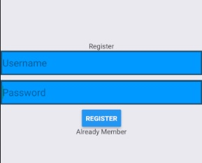 React Native Register